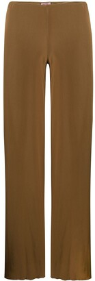 Romeo Gigli Pre-Owned 1990s Wide-Legged Long Trousers