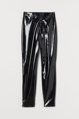 H&M Lacquered Pants