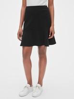 Gap Flutter Mini Skirt in Ponte