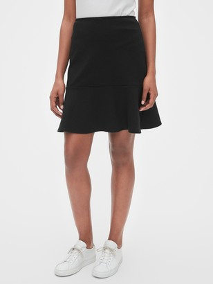 Gap Flutter Mini Skirt in Ponte