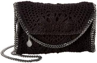 Stella McCartney Falabella Mini Crochet Shoulder Bag