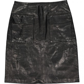 3.1 Phillip Lim Black Leather Skirts