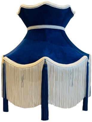 Abigail Hardie Home Blue Velvet Crown Shade