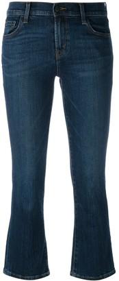 J Brand 'Selena' cropped bootleg jeans