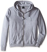 Southpole Men's Big-Tall Active Basic Hooded Full Zip Fleece with Color Blocking