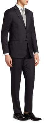 Giorgio Armani Notch Lapel Wool Suit