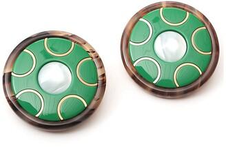 Miu Miu Circle Earrings