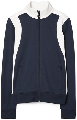Tory Burch Color-Block Track Jacket