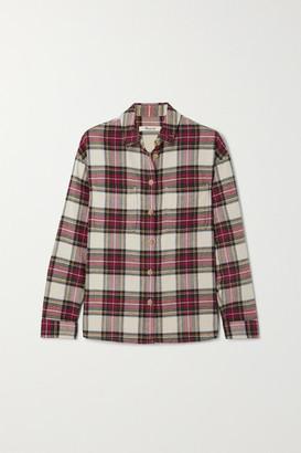 Madewell Tartan Cotton-flannel Shirt - Red