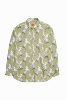 Missoni Bird Print Ls Polo