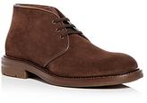 Aquatalia Men's Raphael Weatherproof Suede Chukka Boots