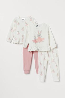 H&M 2-pack Cotton Pajamas