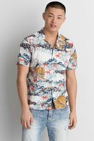 American Eagle Outfitters AE Short Sleeve Print Shirt