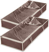 Whitmor 2 Pc. Jumbo Underbed Storage Bag Set