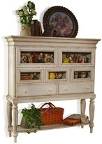 Hillsdale Wilshire Sideboard Cabinet in White