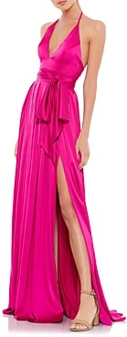 Mac Duggal Halter Neck Gown