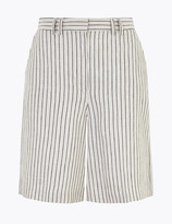 Marks and Spencer Tailored Striped Shorts