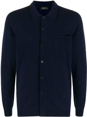 Roberto Collina Fine-Knit Fitted Cardigan