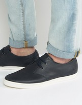 Fred Perry Byron Low Leather Trainers