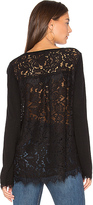 Generation Love Marjorie Lace Top in Black. - size XS (also in )