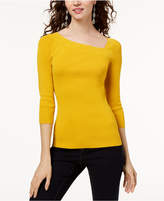 INC International Concepts I.n.c. Petite Asymmetrical Sweater, Created for Macy's