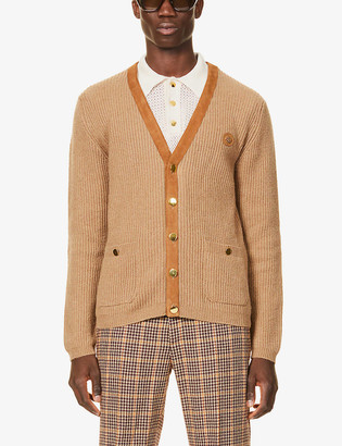 Gucci Ribbed wool cardigan