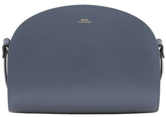 A.P.C. Half-Moon bag in smooth leather