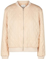 Nümph Quilted Zip-Up Bomber Jacket