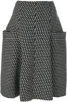 Philosophy Di Lorenzo Serafini star pleated midi skirt