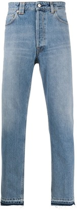 Golden Goose Stonewashed Tapered Jeans