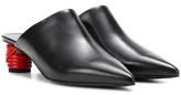 Balenciaga Bistrot leather mules