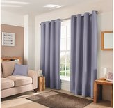 George Home Thistle Textured Weave Curtains - (W) 90 x (D) 90 Inch