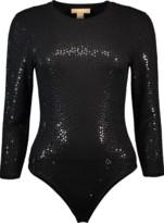 Michael Kors Paillette Bodysuit