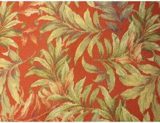 Spice Islands Wicker Ottoman Spice Islands Wicker Upholstery: Astrid Geranium