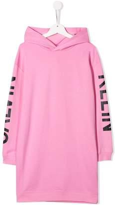 Calvin Klein Kids hooded casual dress