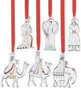 Reed & Barton Nativity Collection, Set of 6 Ornaments