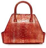 La Perla Bags Metallic Python Mini Ada Bag