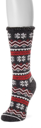 Muk Luks Women's Thermal Socks