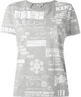 Kenzo Flyer T-shirt - women - Cotton/Spandex/Elastane - S
