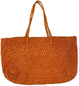 DRAGON DIFFUSION Orange Leather Handbags
