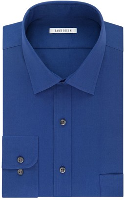 Van Heusen Men's Flex Collar Slim-Fit Pincord Dress Shirt