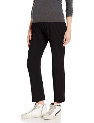 Belabumbum Women's Essential Slouchy Maternity Pant