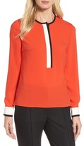 BOSS Women's Isolani Colorblock Top