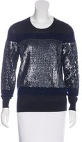 3.1 Phillip Lim Sequined Wool Sweater