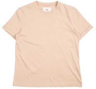 Folk Multi Stitch Tee Stone - 1