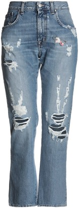 (+) People + PEOPLE Denim pants - Item 42713739SA