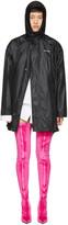 Balenciaga Black Scarf Windbreaker Jacket