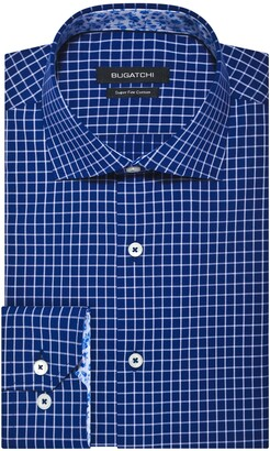 Bugatchi Men's Shaped Fashion Shirt