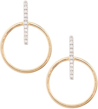 Bony Levy Kiera Circle Drop Earrings