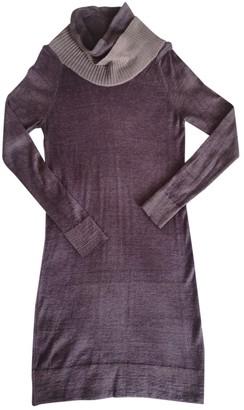 Diesel Purple Wool Dress for Women